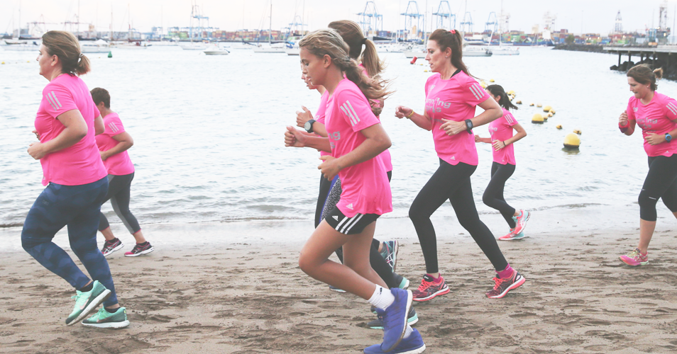 canarias running girls