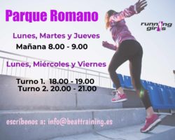 running girls Parque Romano