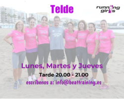 running girls Telde