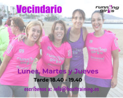 running girls Vecindario